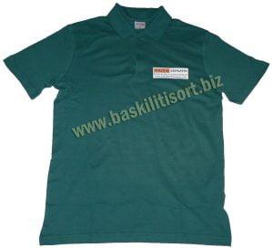 Polo Yaka Düğmeli T-shirt